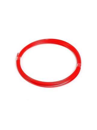 Пластик для 3D ручки 10 м, 1 шт цв. красный прозрачный