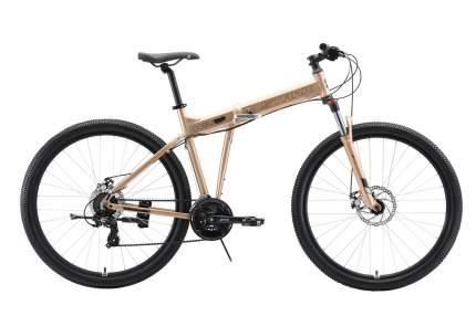"""STARK Велосипед Stark Cobra 29.2 D (2020) бронзовый/черный 20"""""""