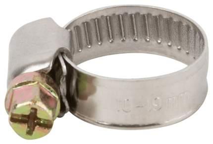 Хомут обжимной (нержавеющая сталь со сваркой) 10-19 мм FIT 64273