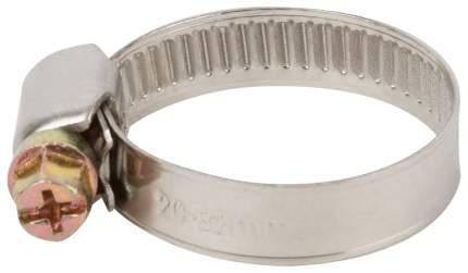 Хомут обжимной (нержавеющая сталь со сваркой) 20-32 мм FIT 64278