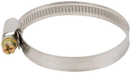 Хомут обжимной (нержавеющая сталь со сваркой) 40-60 мм FIT 64285