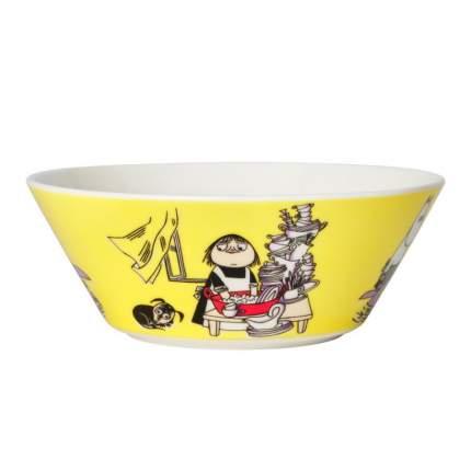 Пиала Moomin Миса желтая 15 см 1052346