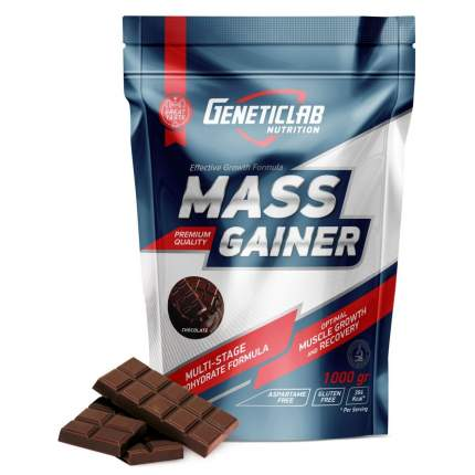 Гейнер GeneticLab Nutrition Mass Gainer 1000 г Chocolate
