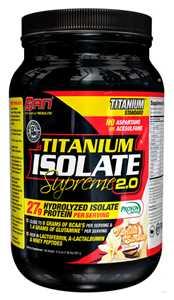 Протеин SAN Titanium Isolate Supreme 2.0 2270 г Vanilla Sundae