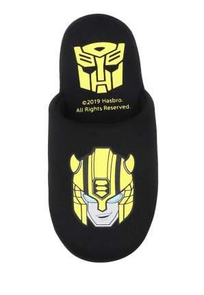 Тапочки детские Transformers, цв. черный р.34