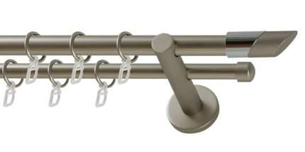 Карниз металлический ART DECOR LUNA WERDECO 20 мм хром матовый