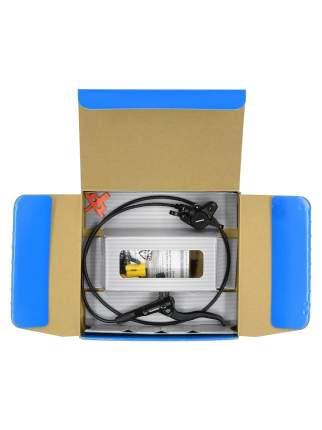 Тормоз диск. гидравлический Shimano, MT400, BL(лев)/BR(пер), полимер. колод., 1000мм