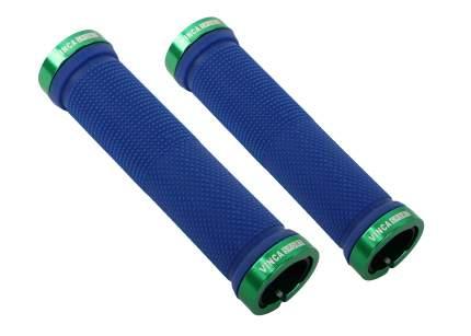 VINCA SPORT Грипсы HL-G 119 Vinca Sport синий/зеленый