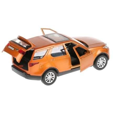Машина металлическая Технопарк LAND ROVER DISCOVERY золотой, 12 см