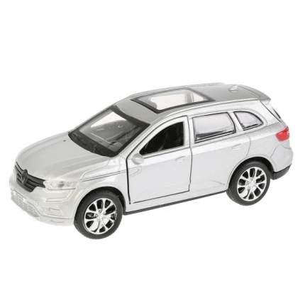 Машина металлическая Технопарк RENAULT KOLEOS серебристый, 12 см