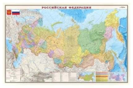 Карта Атлас Принт политико-административная 1:7млн.,1,22x0,79м.,ОСН1224012