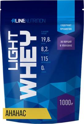 Протеин Rline Light Whey, 1000 г, ананас