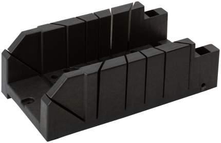 Стусло пластиковое черное 310 мм х 120 мм + 2 эксцентрика Профи FIT 41255