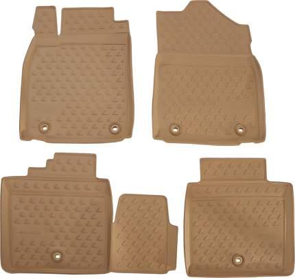 Комплект Ковриков коричневый Moorbraun VAG арт. 4G0864450B QC7