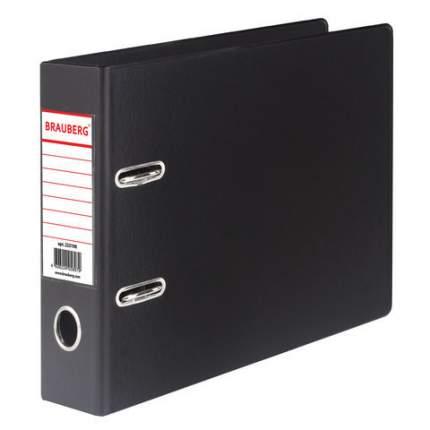 Папка-регистратор Brauberg 223190, А5, горизонтальная, с двухсторонним покрытием из ПВХ, 7