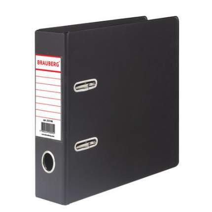 Папка-регистратор Brauberg 223188, А5, вертикальная, с двухсторонним покрытием из ПВХ, 70
