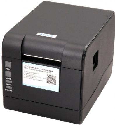 Термопринтер этикеток Xprinter XP-233B Black