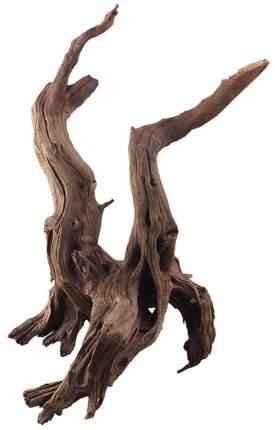 Декорация для аквариума Prime Коряга затонувшая M, дерево, 30х20х40 см