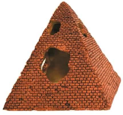 Декорация для аквариума Prime Пирамида, пластик, 12х12х12.5 см