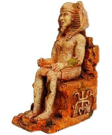 Декорация для аквариума Prime Статуя фараона, пластик, 7х10.5х16.5 см