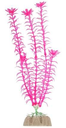 Искусственное растение GLOFISH растение,флуоресцентное, розовый, 20.32см