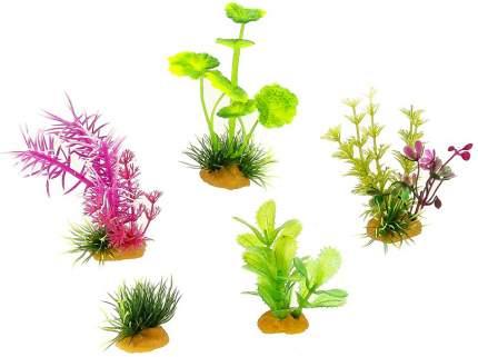 Искусственное растение Prime растение, разноцветный, PR-70603, 10см, 5 шт
