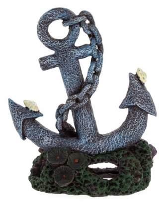 Декорация для аквариума Prime Якорь, пластик, 4х4.7х6.5 см