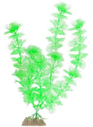 Искусственное растение для аквариума GLOFISH Растение флуоресцентное зеленое 20,32 см