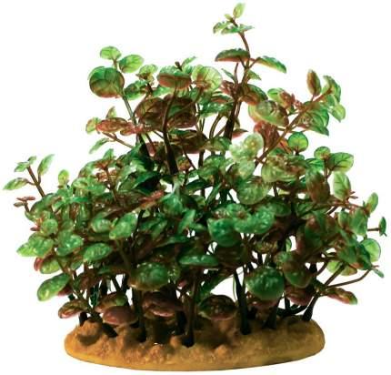 Искусственное растение для аквариума Prime Людвигия 15 см, пластик