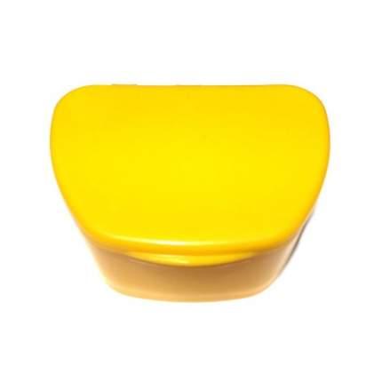 Контейнер для лекарств StaiNo пластиковый 95x74x39 желтый Plastic Box DB05