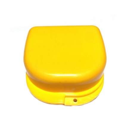 Контейнер для лекарств StaiNo пластиковый 78x83x45 желтый Plastic Box DB02