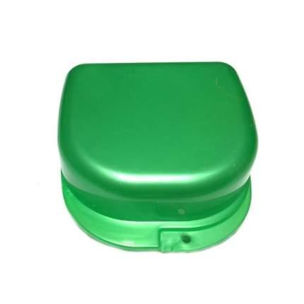 Контейнер для лекарств StaiNo пластиковый 78x83x45  зеленый перламутровый Plastic Box DB02
