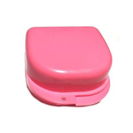 Контейнер для лекарств StaiNo пластиковый 78x83x45  розовый Plastic Box DB02