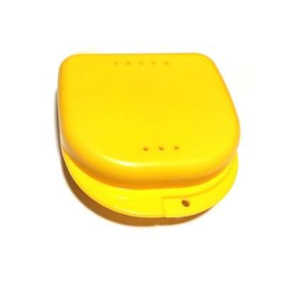 Контейнер для лекарств StaiNo пластиковый 82x85x29  желтый Plastic Box DB10