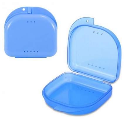 Контейнер для лекарств StaiNo пластиковый 82x85x29  голубой Plastic Box DB10
