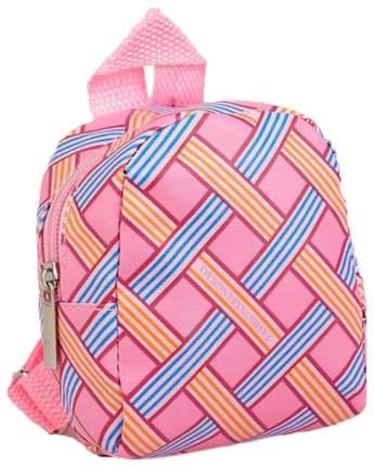 """Рюкзак для кукол """"Орнамент"""", цвет: розовый, арт. 4259010"""