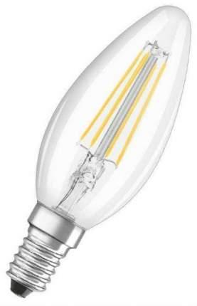 Лампа светодиодная филаментная OSRAM LEDSCLB40 4W/827 230V FIL E14