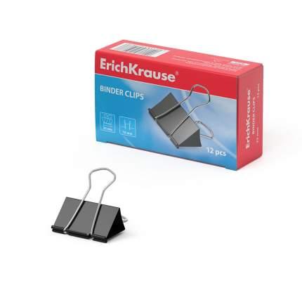 Зажимы для бумаг ErichKrause®, 25мм (коробка 12 шт.)
