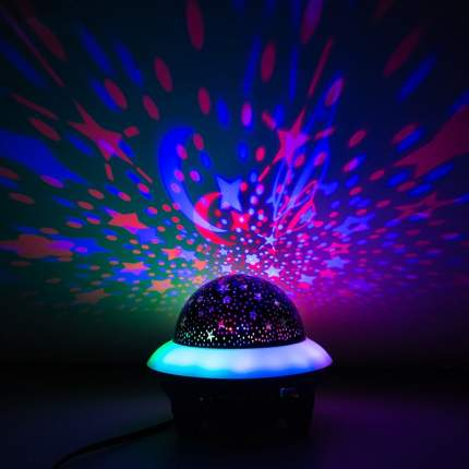 Светодиодный светильник проектор беспроводной диско-шар Bluetooth Baziator
