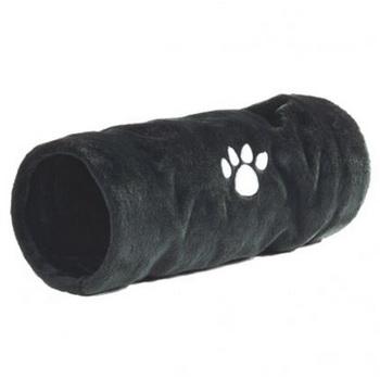 Тоннель для кошек Beeztees Crispy плюш, 22х60 см