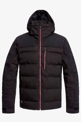 Сноубордическая куртка The Edge Quiksilver, черный, S