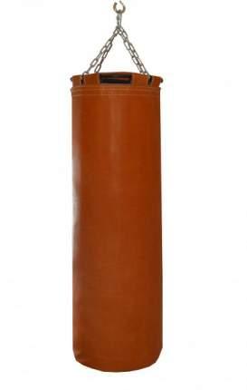 Боксерский мешок РОККИ натуральная кожа 110x40 см коричневый
