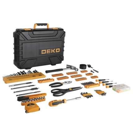 Набор инструмента и оснастки в чемодане DEKO DKMT200 (200 предметов) 065-0743