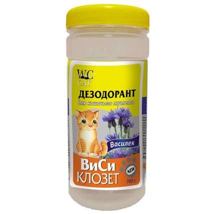 Дезодорант для кошачьего туалета WC Closet Василек, 700г
