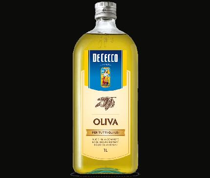 Масло De Cecco оливковое Olio di Olivia рафинированное 1л