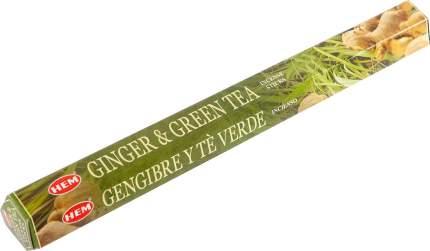 Благовония Имбирь-зеленый чай (GINGER-GREEN TEA)