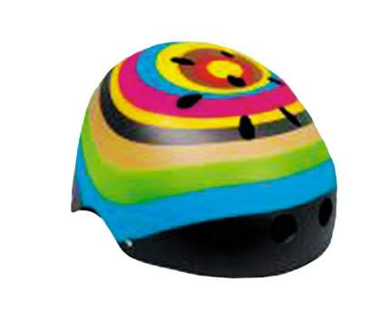 Велосипедный шлем MaxCity Graffiti Color, разноцветный, S