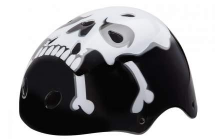 Велосипедный шлем Stels МTV-12/600105, черный/белый, One Size