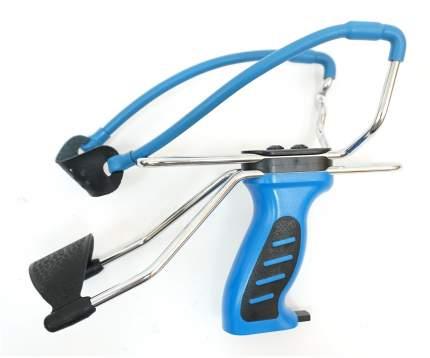 Рогатка Man Kung MK-SL06 с упором и магазином, синяя