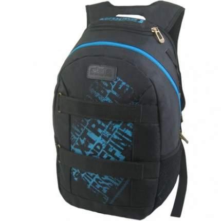 Рюкзак унисекс NoBrand N1163 черный с синим
